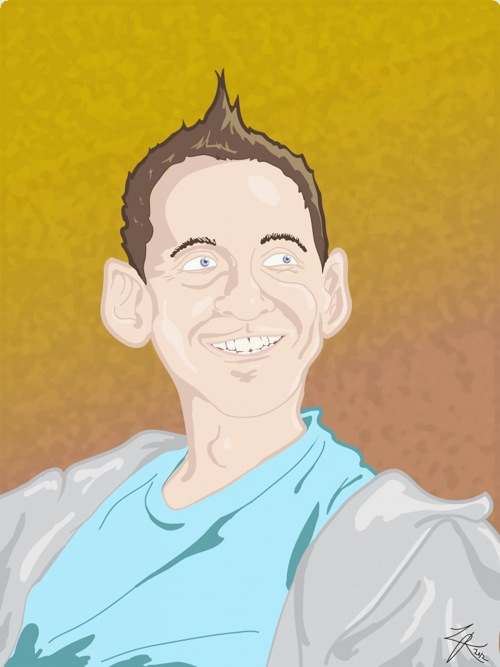 Humor Code_Neal Brennan illustration by Luke Reznor