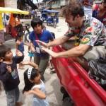 Joel Warner in Iquitos, Peru