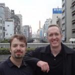 Joel Warner & Peter McGraw in Osaka, Japan
