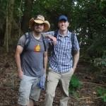 Joel Warner & Peter McGraw in Tanzania