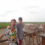 Dr. Peter McGraw & Joel Warner in Iquitos, Peru - The Humor Code